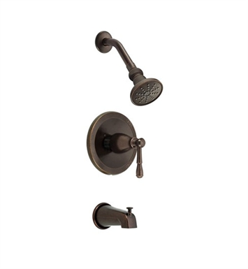 Danze D501015BRT Eastham™ Trim Only Single Handle Tub & Shower Faucet in Tumbled Bronze