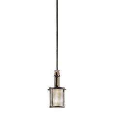 Kichler 43584AVI Mini Pendant 1 Light in Anvil Iron