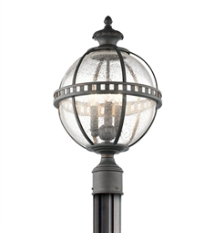 Kichler 49604LD Outdoor Post Mt 3 Light in Londonderry
