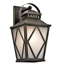 Kichler 49292OZ Outdoor Wall 1 Light in Olde Bronze
