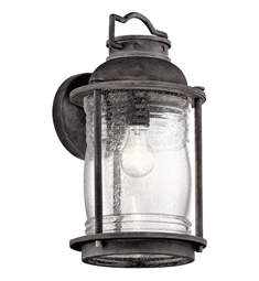 Kichler 49571WZC Outdoor Wall 1 Light in Weathered Zinc