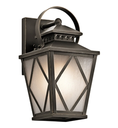 Kichler 49291OZ Outdoor Wall 1 Light in Olde Bronze