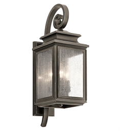 Kichler 49502OZ Outdoor Wall 3 Light in Olde Bronze