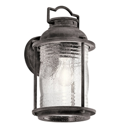 Kichler 49570WZC Outdoor Wall 3 Light in Weathered Zinc