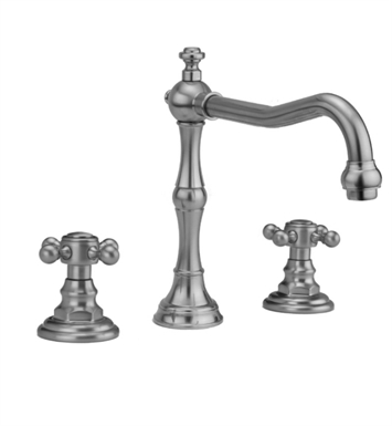 Jaclo 9930-T678-TRIM-SB Roaring 20's Roman Tub Faucet with Traditional Cross Handles With Finish: Satin Brass