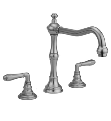 Jaclo 9930-T674-TRIM-MBK Roaring 20's Roman Tub Faucet with Traditional Lever Handles With Finish: Matte Black