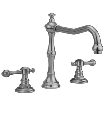 Jaclo 9930-T692-TRIM-SB Roaring 20's Roman Tub Faucet with Finial Lever Handles With Finish: Satin Brass