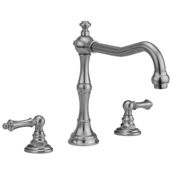 Jaclo 9930-T679-TRIM-SB Roaring 20's Roman Tub Faucet with Traditional Lever Handles With Finish: Satin Brass
