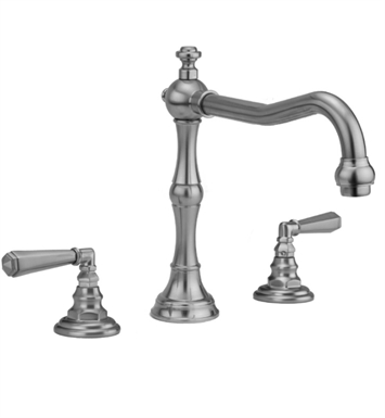 Jaclo 9930-T675-TRIM-MBK Roaring 20's Roman Tub Faucet with Hex Lever Handles With Finish: Matte Black
