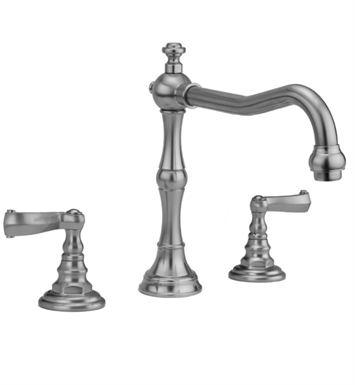 Jaclo 9930-T667-TRIM-SG Roaring 20's Roman Tub Faucet with Ribbon Lever Handles With Finish: Satin Gold