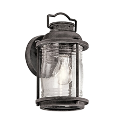 Kichler 49569WZC Outdoor Wall 1 Light in Weathered Zinc