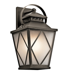 Kichler 49293OZ Outdoor Wall 1 Light in Olde Bronze