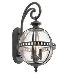 Kichler 49601LD Outdoor Wall 3 Light in Londonderry