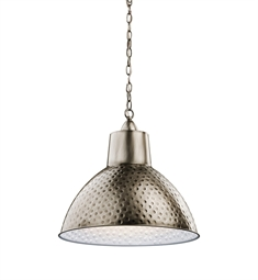 Kichler 42800AP Pendant 1 Light in Antique Pewter