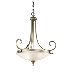 Kichler 43164SGD Pendant 3 Light in Sterling Gold