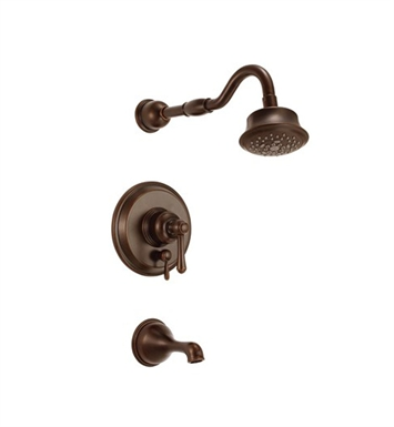 Danze D502257BRT Opulence™ Trim Only Single Handle Tub & Shower Faucet in Tumbled Bronze