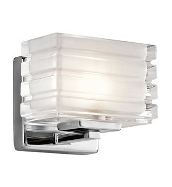 Kichler 45477CH Wall Sconce 1 Light in Chrome