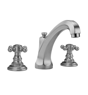 Jaclo 6972-T678-TRIM-SB Westfield High Spout Roman Tub Faucet with Traditional Cross Handles With Finish: Satin Brass