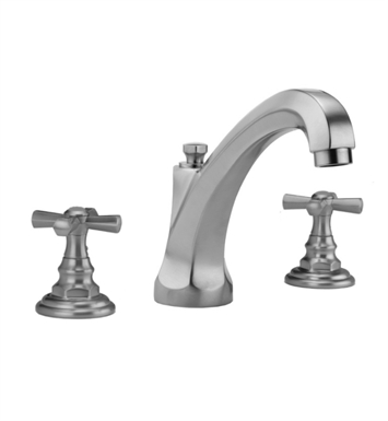 Jaclo 6972-T676-TRIM-SC Westfield High Spout Roman Tub Faucet with Hex Cross Handles With Finish: Satin Chrome