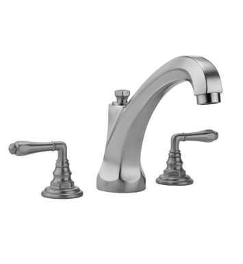 Jaclo 6972-T674-TRIM Westfield High Spout Roman Tub Faucet with Traditional Lever Handles