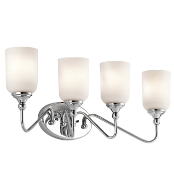 Kichler 45553CH Bath 4 Light in Chrome