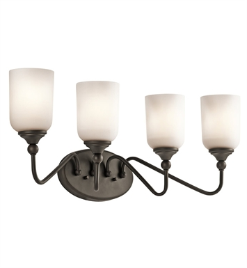 Kichler 45553OZ Bath 4 Light in Olde Bronze
