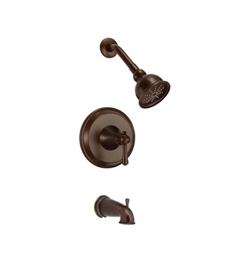 Danze D500026BRT Cape Anne™ Tub and Shower Trim Kit in Tumbled Bronze