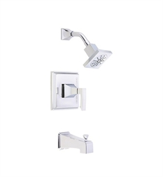 Danze Logan Square™ Tub and Shower Trim Kit in Chrome