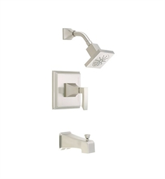 Danze Logan Square™ Tub and Shower Trim Kit in Brushed Nickel