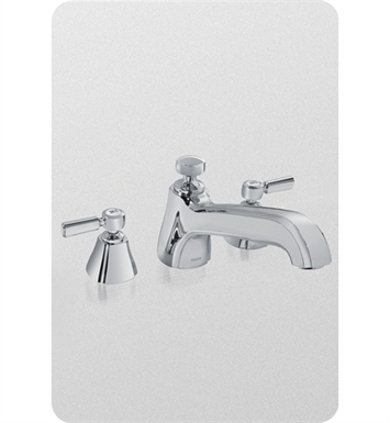 TOTO TB970DD1 Guinevere® Deck-Mount Tub Filler Trim with Lever Handles