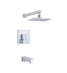 Danze Mid-town™ Tub and Shower Trim Kit in Chrome