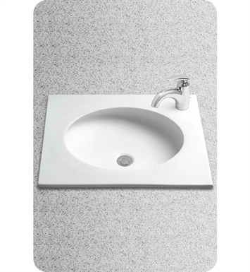 TOTO LT182#12 Curva™ Self-Rimming Lavatory With Finish: Sedona Beige
