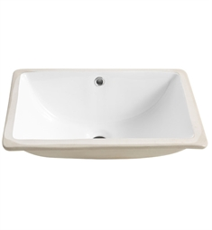 Fresca FVS8119WH Allier White Undermount Sinks