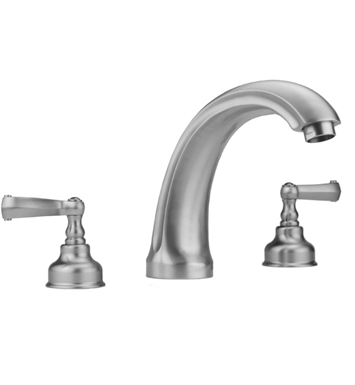 Jaclo 6940-T637-TRIM-SB Jaylen Roman Tub Faucet with Ribbon Lever Handles With Finish: Satin Brass
