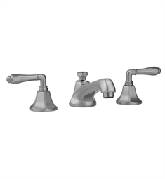 Jaclo Astor 6870-T684 Widespread Faucet with Traditional Lever Handles