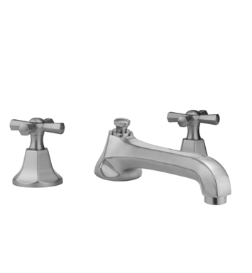 Jaclo 6970-T686-TRIM-PCH Astor Low Spout Roman Tub Faucet with Hex Cross Handles With Finish: Polished Chrome