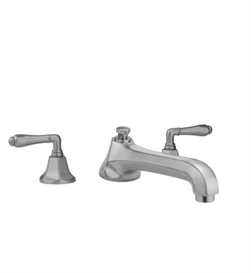 Jaclo 6970-T684-TRIM-SB Astor Low Spout Roman Tub Faucet with Traditional Lever Handles With Finish: Satin Brass