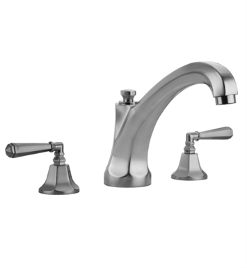 Jaclo 6972-T685-TRIM-VB Astor High Spout Roman Tub Faucet with Hex Lever Handles With Finish: Vintage Bronze