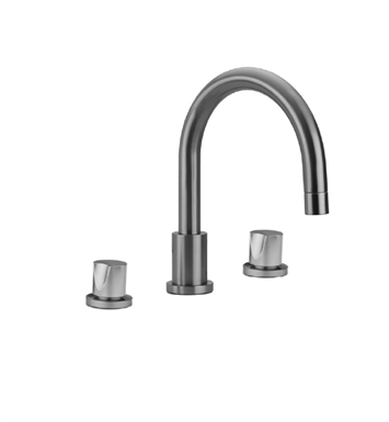 Jaclo 9980-T672-TRIM-PEW Contempo Roman Tub Faucet with Thumb Control Handles With Finish: Pewter