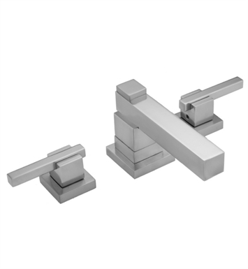 Jaclo 3304 Cubix Widespread Stacked Faucet with Lever Handles