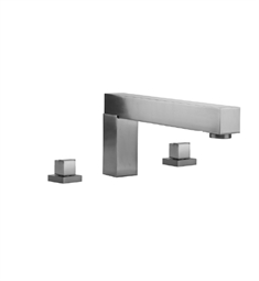 Jaclo Cubix 5404-TRIM Roman Tub Faucet with Square Handles