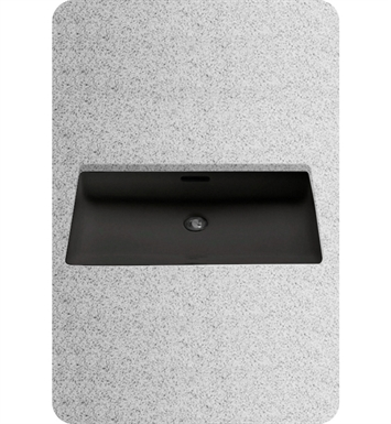 TOTO LT191#51 Undercounter Lavatory Sink in Ebony Black With Finish: Ebony <strong>(SPECIAL ORDER. USUALLY SHIPS IN 3-4 WEEKS)</strong>