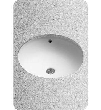 TOTO LT193G#11 Undercounter Lavatory, with SanaGloss With Finish: Colonial White
