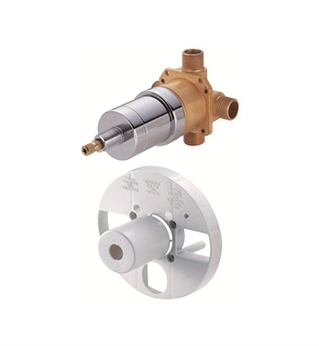 Danze D115000BT Single Control Pressure Balance Mixing Valve without Screwdriver Stops in Rough Brass