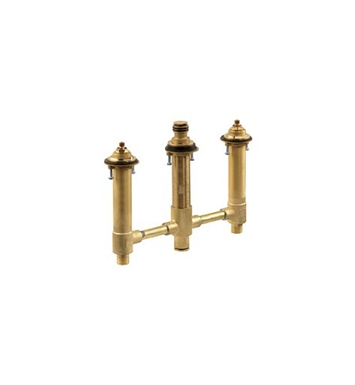 "Danze D210100BT 10"" CC Rough-In Valve for Roman Tub Filler & Personal Shower in Rough Brass"