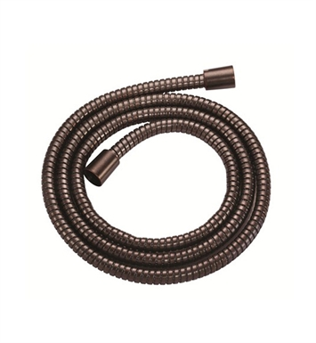 "Danze D469020RB Oil Rubbed Bronze Interlock 72"" Metal Hand Shower Hose"