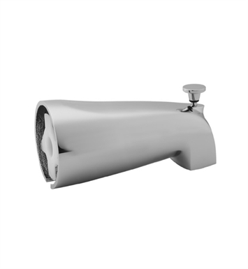 Jaclo 2042-SC Decorative Tub Spout with Diverter With Finish: Satin Chrome