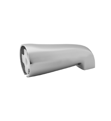 Jaclo 2043-WH Over The Rim Decorative Tub Spout With Finish: White