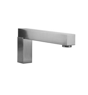 Jaclo 4404-SN Cubix Deck Mount Over The Top Spout With Finish: Satin Nickel