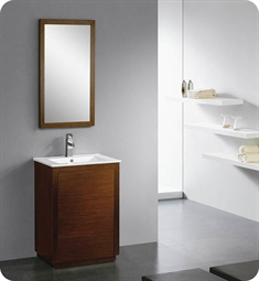 Fresca FVN8223WG Decor Planet Exclusive Tenzio Modern Bathroom Vanity with Mirror and Faucet